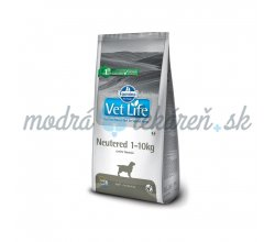 FARMINA VET LIFE DOG NEUTERED 1-10KG  2kg
