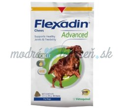 FLEXADIN ADVANCED žuvacie tbl.  60 tbl.  NEW