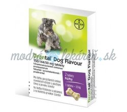 DRONTAL DOG FLAVOUR 150/144/50MG 2TBL