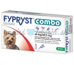 FYPRYST Combo S 67/60,3 mg spot-on Dog