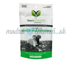 Vetri Science Canine Plus Senior Multivitamin žuvacie tbl. 30 tbl.