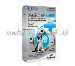 PestiGon Combo M 134/120,6 mg 3 pip.
