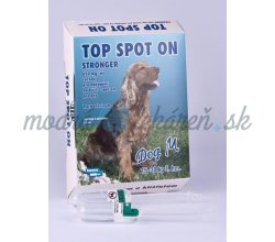 "TOP SPOT ON STRONG. 1X2ML DOG ""M"""