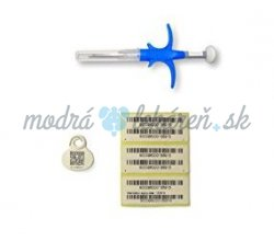 Mikročíp MS Microchip syringe Mini 1,5 mm x 8,3 mm