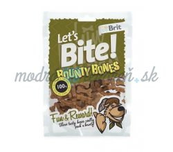 Pamlsok BRIT LET' S BITE dog pochúťky Bounty Bones 150 g
