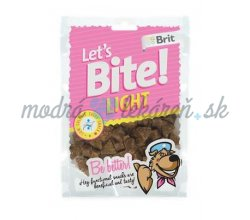 Pamlsok BRIT LET' S BITE dog pochúťky Light 150 g