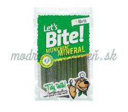 Pamlsok BRIT LET' S BITE dog pochúťky Munchin' Mineral 105 g