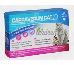 Capraverum Cat Kittens - lactating cats 30 tbl.