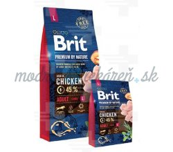 Brit Premium by Nature dog Adult L
