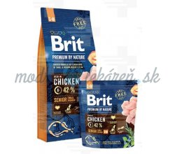 Brit Premium by Nature dog Senior S+ M