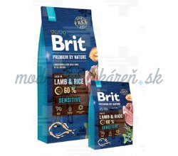 Brit Premium by Nature dog Sensitive Lamb