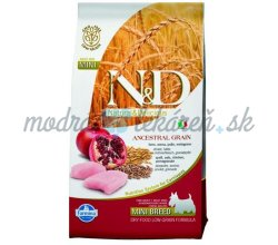 Farmina N&D dog LG adult mini chicken&pomegranate