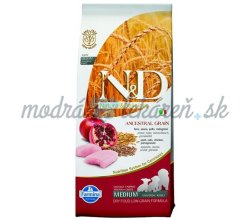 Farmina N&D dog LG puppy medium chicken&pomegranate