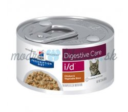 HILLS Diet Feline Stew i/d with Chicken, Rice & Vegetables konzerva 82 g