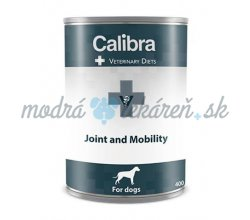 Calibra VD Dog Joint and Mobility 400 g konzerva