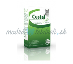 Cestal cat 80/20 mg žuv.tbl. 48 tbl.