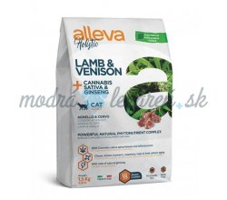 Alleva HOLISTIC cat lamb & venison adult 1,5 kg