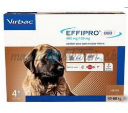 EFFIPRO DUO XL 402/ 120 mg mg spot-on psy 40-60 kg 4 x 4,02 ml