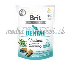 Pamlsok Brit Care Dog Functional Snack Dental Venison 150 g
