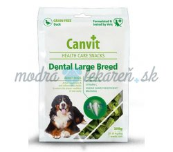 Pamlsok Canvit Health Care dog Dental Snack Large Breed 250 g