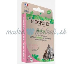 BIOGANCE Biospotix Cat spot-on s repelentným účinkom 5 x 1 ml
