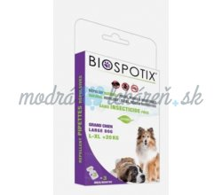 BIOGANCE Biospotix Dog spot-on L-XL s repelentným účinkom 3 x 3 ml (nad 20 kg)